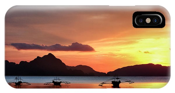 Three Fishermen IPhone Case