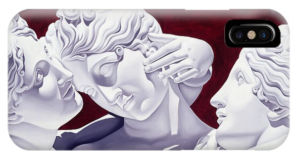 Raphael iPhone Case - Three Graces by Catherine Abel