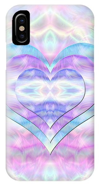 Three Hearts As One IPhone Case