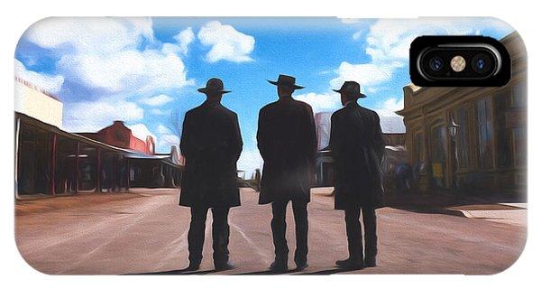 Three Lawmen IPhone Case