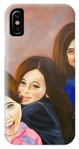 Three Little Ladies IPhone Case