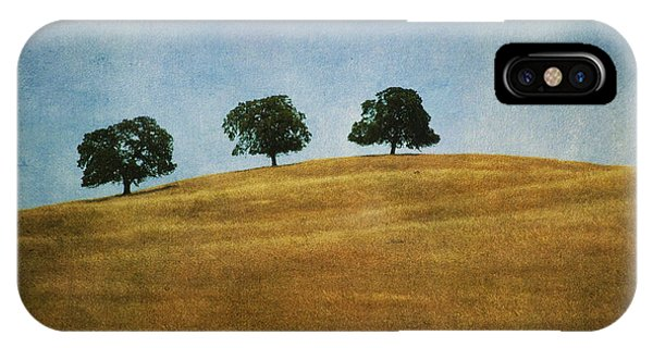 Three On A Hill IPhone Case