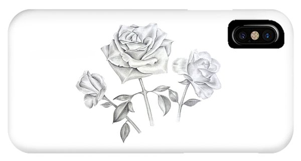 Three Roses IPhone Case