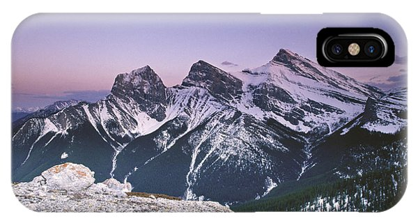 Three Sisters At Twilight IPhone Case