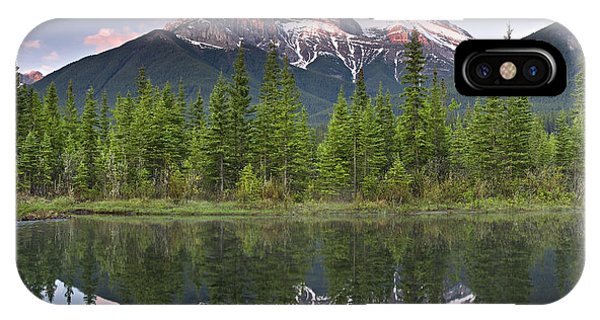 Three Sisters Reflection Phone Case by Richard Berry