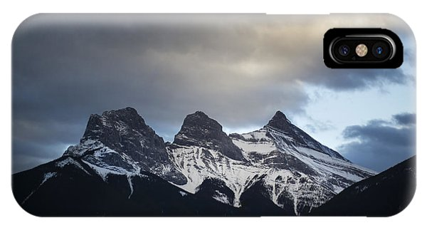 Banff iPhone Case - Three Sisters - Special Request by Evelina Kremsdorf