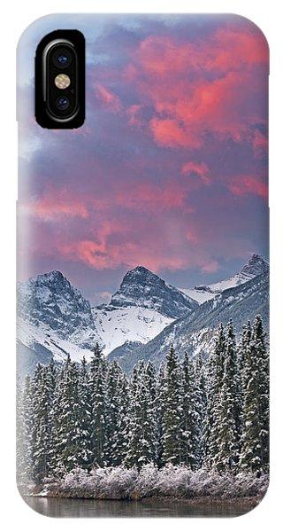 Three Sisters Winter Sunrise IPhone Case