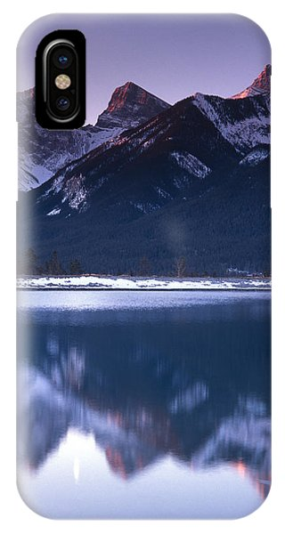 Three Sisters With Crescent Moon Phone Case by Richard Berry