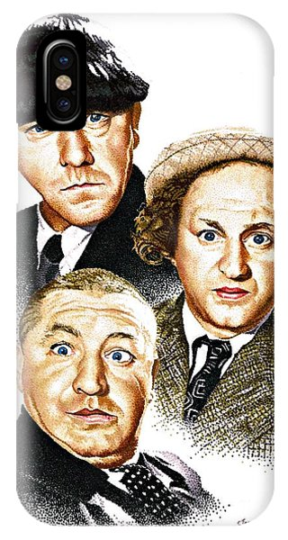 Three Stooges IPhone Case