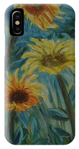 Three Sunflowers - Sold IPhone Case