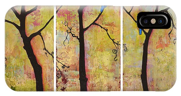 Three Trees Triptych IPhone Case