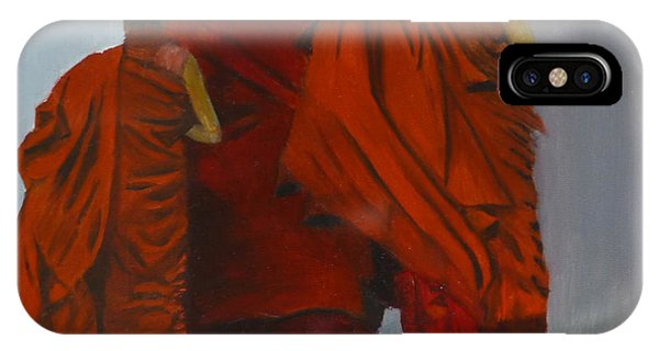 Three Young Monks IPhone Case