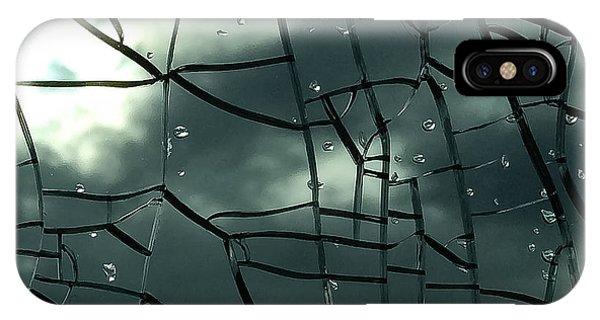 Through Broken Glass IPhone Case