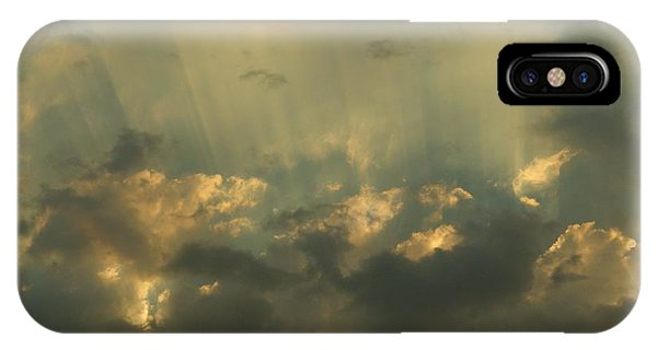 Through The Clouds IPhone Case