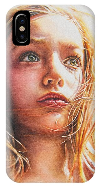 Through The Eyes Of A Child IPhone Case