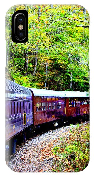 Through The Mountains IPhone Case