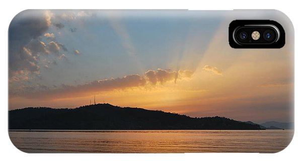 Through The Rays IPhone Case