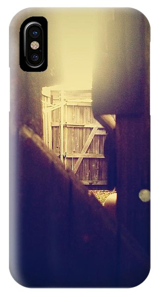 Through The Side Gate IPhone Case