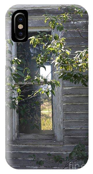 Through The Window Pane IPhone Case