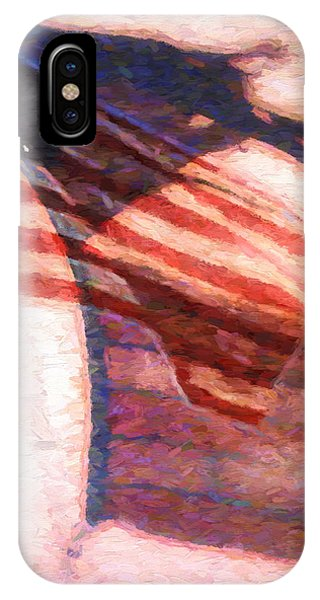 IPhone Case featuring the painting Through War And Peace by Bob Orsillo