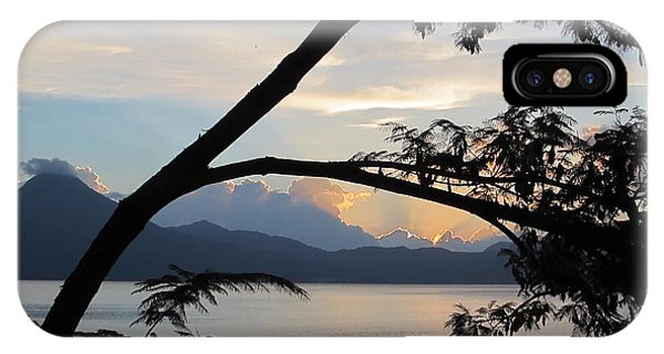 View iPhone Case - View Through The Branches by Josias Tomas