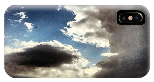 Sky iPhone Case - Thunder Clouds by Christy Beckwith