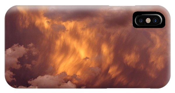 Thunder Clouds IPhone Case