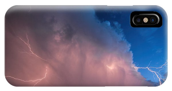 Thunder God Approaches IPhone Case