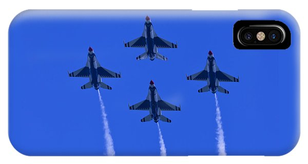 Thunderbirds Diamond Formation Undersides 2 IPhone Case