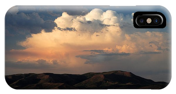 Thunderhead Over Strawberry IPhone Case