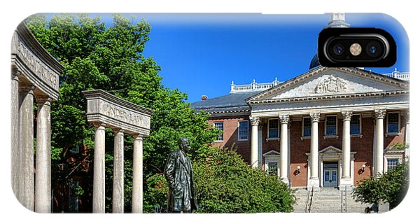 Equal iPhone Case - Thurgood Marshall Memorial And Maryland State House by Olivier Le Queinec