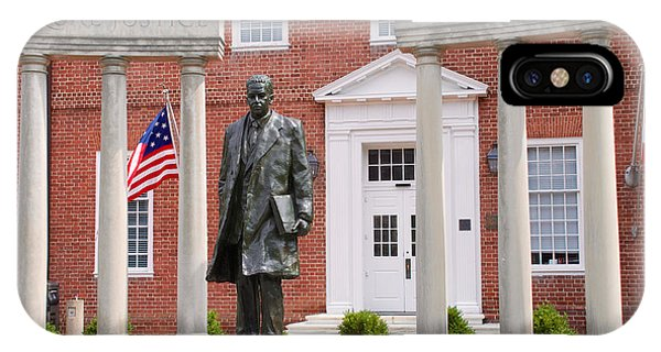 Thurgood Marshall Statue - Equal Justice For All IPhone Case