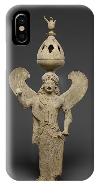 Thymiaterion Supported By A Statuette Of Nike Unknown Sicily IPhone Case
