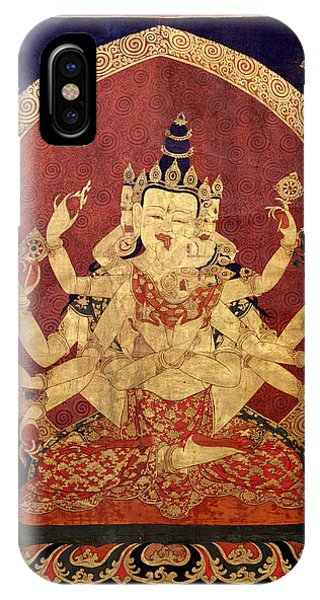 Tibetan Art IPhone Case