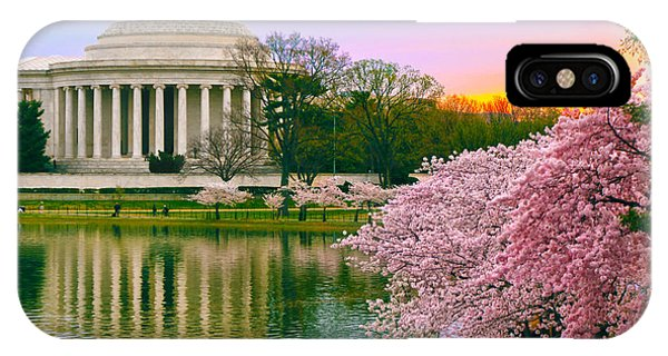 Tidal Basin Morning IPhone Case