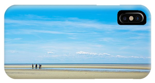 Tidal iPhone Case - Tidal Flats Of Cape Cod by Diane Diederich