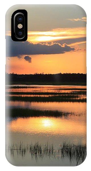 Tidal Marsh- Wilmington Nc IPhone Case