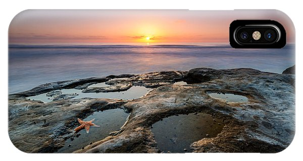 Tide Pool Sunset IPhone Case
