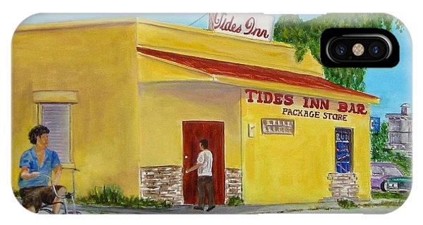Tides Inn Bar IPhone Case