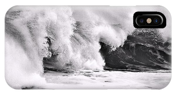 Tides Will Turn Bw By Denise Dube IPhone Case