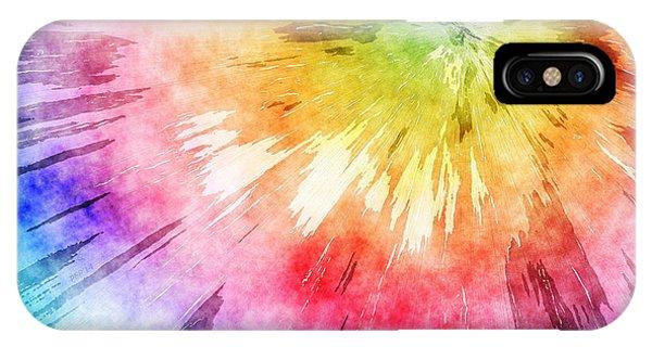 Tie Dye Watercolor IPhone Case