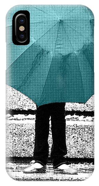 Tiffany Blue Umbrella IPhone Case