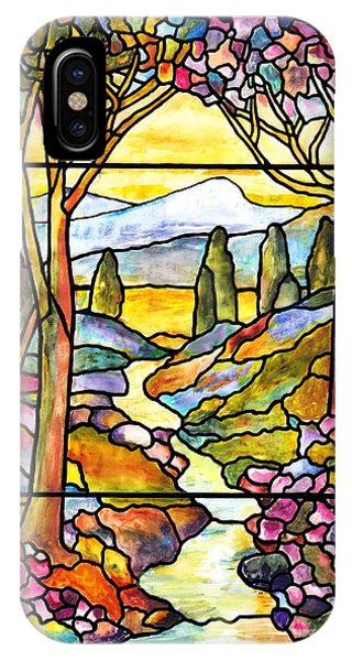 Tiffany Landscape Window IPhone Case