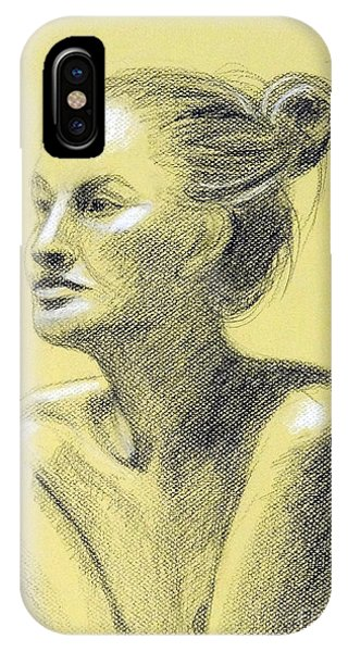 Tiffany Portrait IPhone Case