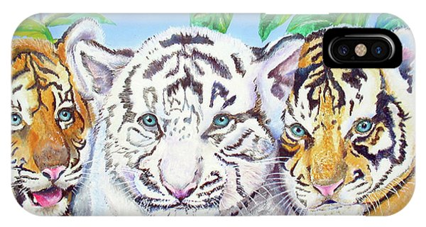 Tiger Cubs IPhone Case