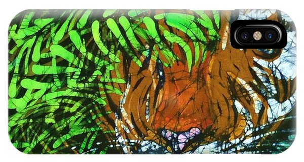 Tiger In Bamboo  IPhone Case