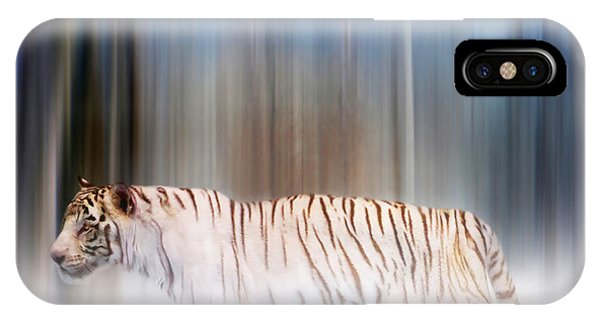 Tiger In The Mist IPhone Case