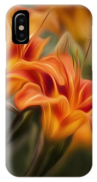 Lilly iPhone Case - Tiger Lily by Bill Wakeley