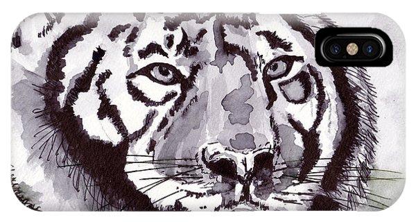 iPhone Case - Tiger by Michael Rados