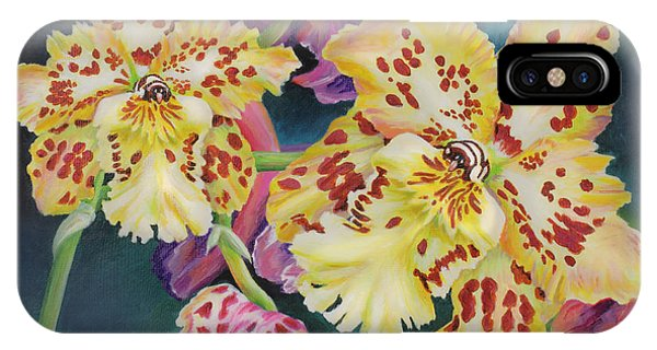 Tiger Orchid IPhone Case